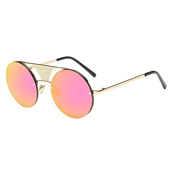 URIBAKY Gafas de sol Gafas de sol Redondas estilo Unisex ...