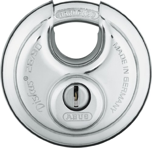 ABUS 26/90 KD B High Security Stainless Steel Keyed Different Diskus Padlock