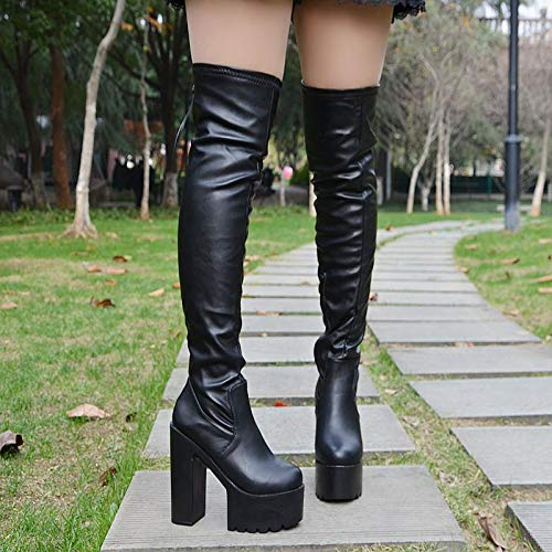 boots high Thirty stage heeled 15 winter seven new cm long and shoes Autumn nXPxwvq