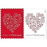 Forever Hearts USPS Forever Stamps, Sheet of 20 #588504 by US Postage 2015 NEW RELEASE