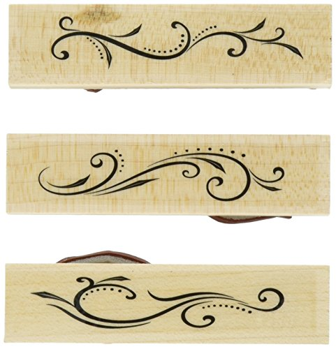 Hero Arts Designer Flourishes Woodblock Stamp (Designer Stamp)