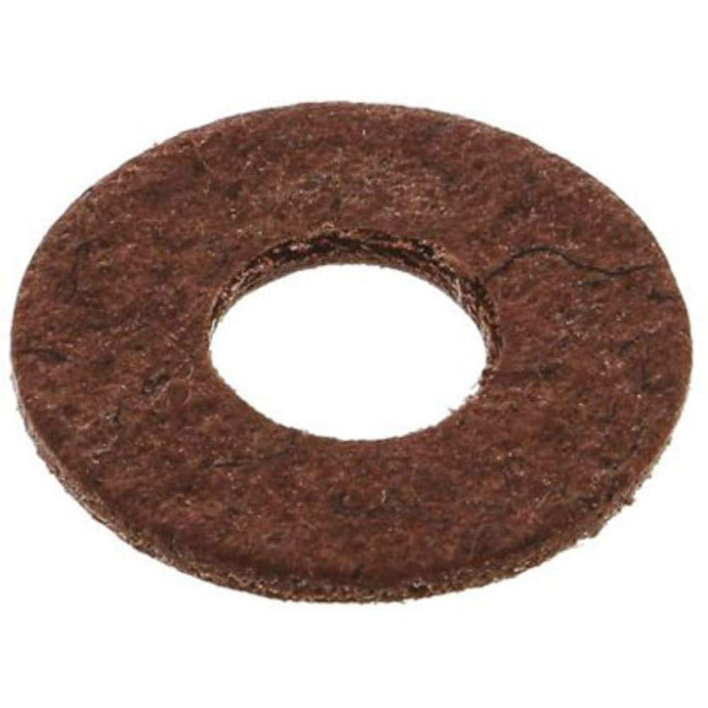 M5 Plain Vulcanised Fibre Sealing Washer; 0.8mm Thickness, Pack of 5
