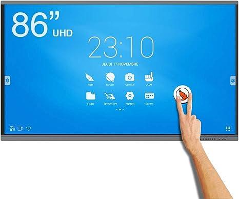Speechi Pantalla interactiva táctil Android 4 K UHD speechitouch 86