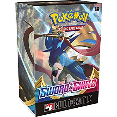 Pokémon TCG Sword & Shield Booster Box + Build and Battle Box Prerelease Kit Pokémon Trading Card Game Bundle, 1 of Each: Toys & Games