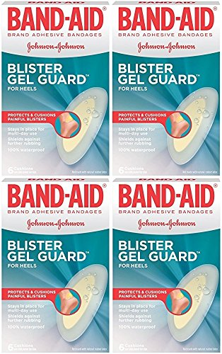 Band Aid Advanced Healing Blister Cushions (Band-Aid Advanced Protection Blister Adhesive Bandages, 6 Count (Pack of 4))