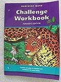 Harcourt Math, Grade 6, Harcourt School Publishers Staff, 0153208260