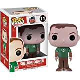 Funko POP Television: Sheldon Cooper Green Lantern Vinyl Figure,Colors May Vary