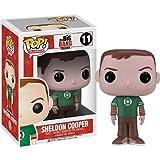 (US) Funko POP Television: Sheldon Cooper Green Lantern Vinyl Figure,Colors May Vary