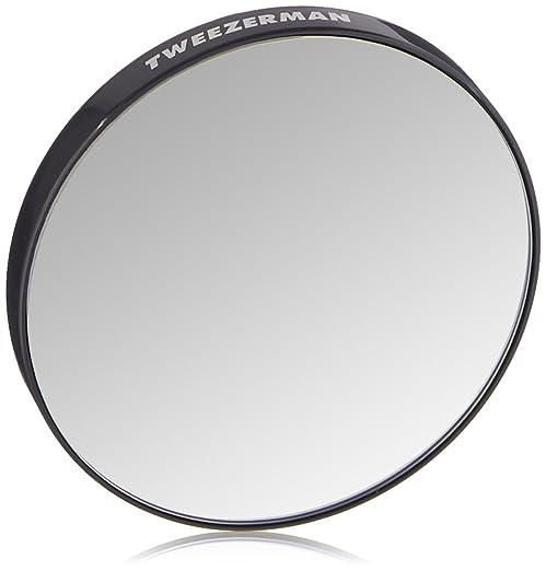 Tweezerman Tweezermate, 12x Magnification Personal Mirror, 1 Count