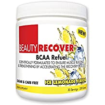 BeautyFit BeautyRecover, BCCA Refuel For Women, Ice Lemonade, 314 grams (30 Servings)