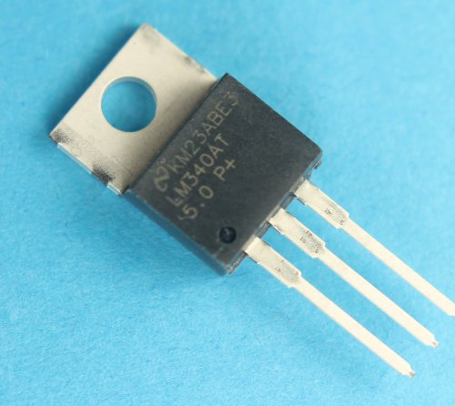 12pcs LM340AT-5.0 1A 5V LDO Voltage Regulator TO-220 National Semiconductor