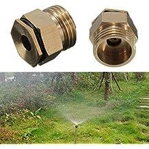 5Pcs 1/2 Inch Brass Atomization Spray Nozzle Garden Greenhouse Cooling Misting Sprinkler Head^.