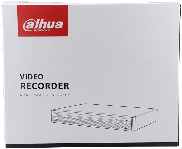 Supports up to 6TB HDD Supports up to 4 x 4K IP Cameras Dahua 4K 8MP 4CH POE NVR NVR2104HS-P-4KS2 1080P//3MP//4MP//5MP//6MP//8MP Network Video Recorder Not Included