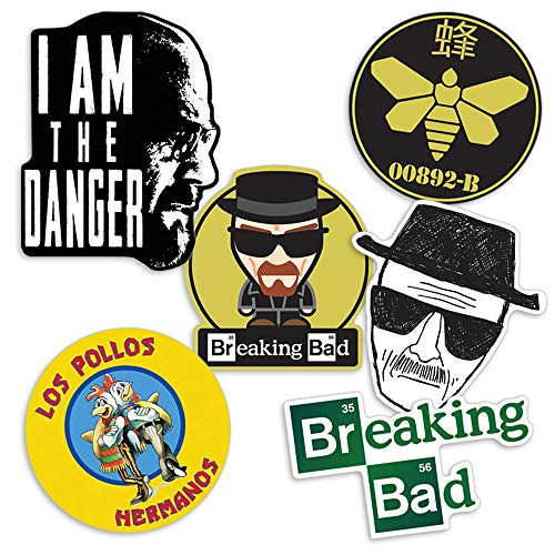 Collectible Stickers with Heisenberg and Los Pollos Hermanos ()