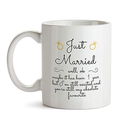 Amazon Com Ottoriven101 1st Wedding Anniversary Gift For Him Just