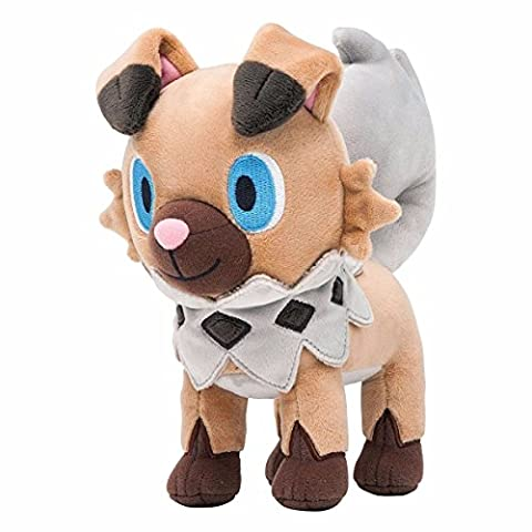 L 30cm Anime Sun&Moon Plush Rockruff (Iwanko) Plush Soft Stuffed Doll Toy - Ipod Redskin
