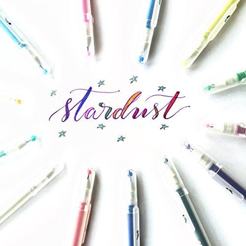 Sakura 37903 Gelly Roll Stardust Bold Galaxy Set of 6 Pens Drawing Art Craft NEW