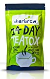 Best Tea Detoxes - Charbrew 14 day Nightime Teatox - Weightloss, Detox Review