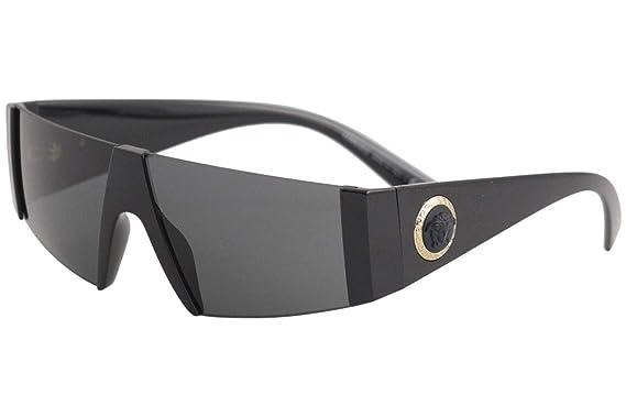 55c8d0456d7 Amazon.com  Versace Mens Sunglasses Black Grey - Non-Polarized - 36mm   Clothing