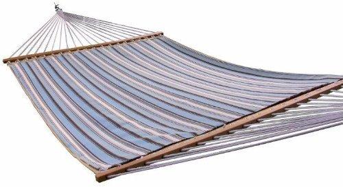 [해외]이클립스 컬렉션 Sunbrella Quilted 해먹 - 더블 (Carnegie Celeste)/Eclipse Collection Sunbrella Quilted Hammock - Double (Carnegie Cel