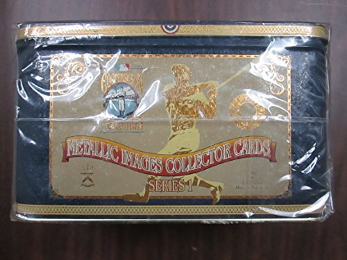 Cooperstown Collection Series 1 Metallic Images Collector Cards Tin Box ()
