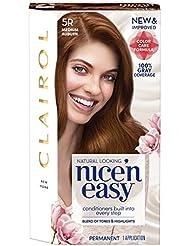Clairol Nice 'N Easy Permanent Hair Color, 5R Medium...