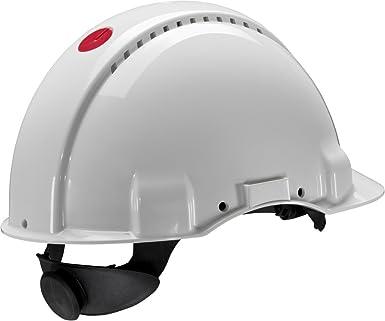 3M G3001NUV-VI - G3001 Casco, sin ventilación, blanco, con arnés de