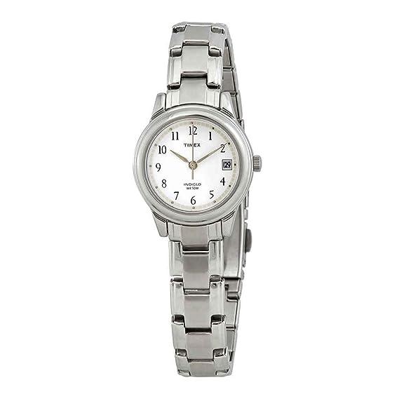 Timex T292719J - Reloj de Pulsera Mujer, Acero Inoxidable ...