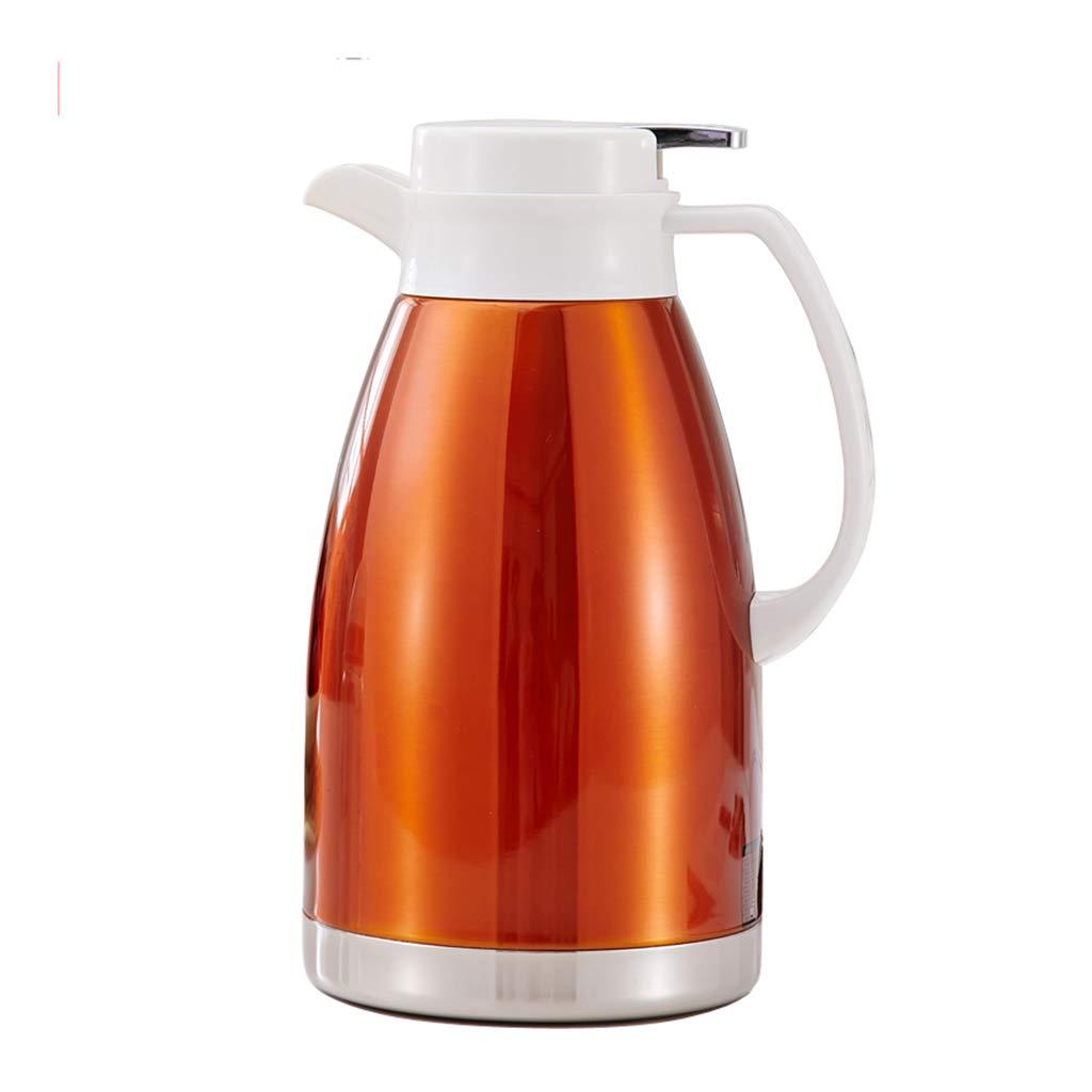 FYCZ Thermoskannen, Vakuum 2L Hohe KapazitäT Isolierte Auto-Reisebecher-Flasche Doppelwandige Auslaufsichere Kaffee-Nahrung HeißEs Und Kaltes GeträNk G1