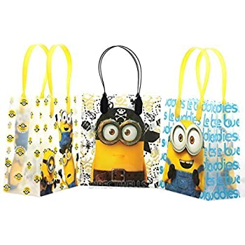 Universal Studios Minions 2015 Despicable Party Gift Bag (Set of 12)