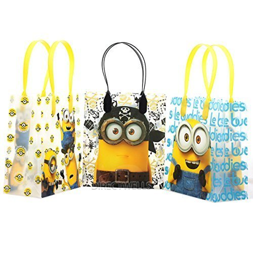 Despicable Me Party Supplies (Universal Studios Minions 2015 Despicable Party Gift Bag (Set of 12))
