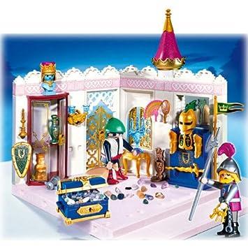 Playmobil   4255   Le Château De Princesse   Garde + Brigand + Chambre  Tresor