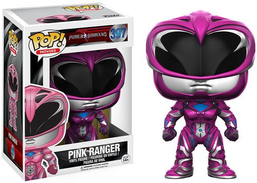 Funko POP Movies: Power Rangers Pink Ranger Toy Figure]()