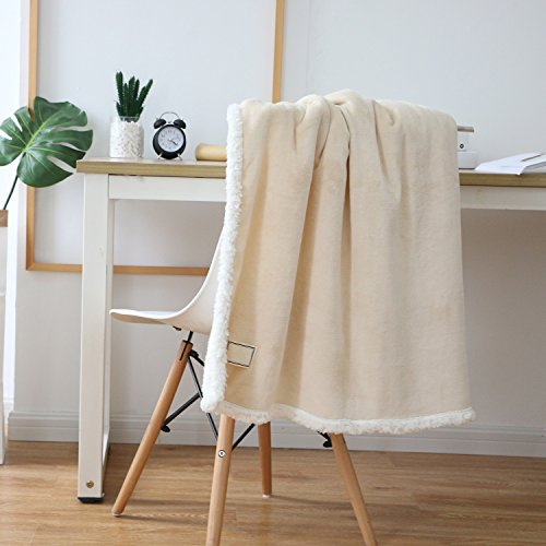 Running Sloth Sherpa Flannel Throw Blanket Super Soft Reversible Plush Shearling Lining 35'' X 47'' RS-001-mise