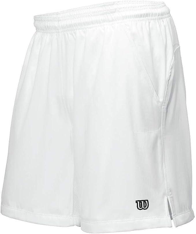 Wilson Herren Rush 7 Woven Short  Shorts weiß NEU