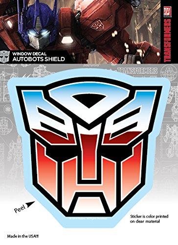 Elephant Gun Transformers Autobots Shield Logo Car Window Decal Sticker -