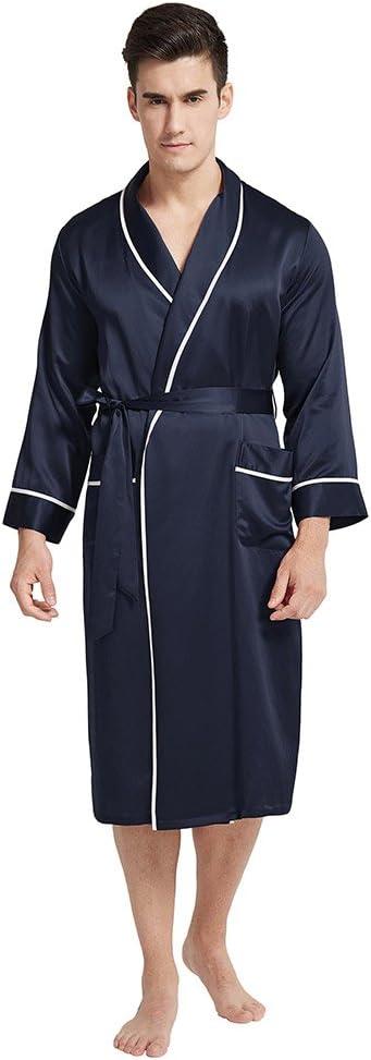 45b165ba5f6f5 Amazon.com  LILYSILK  Men Robe