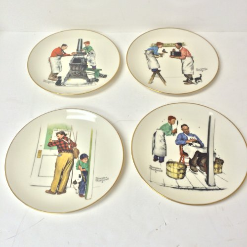 Complete Four Seasons Series From 1960 Norman Rockwell's