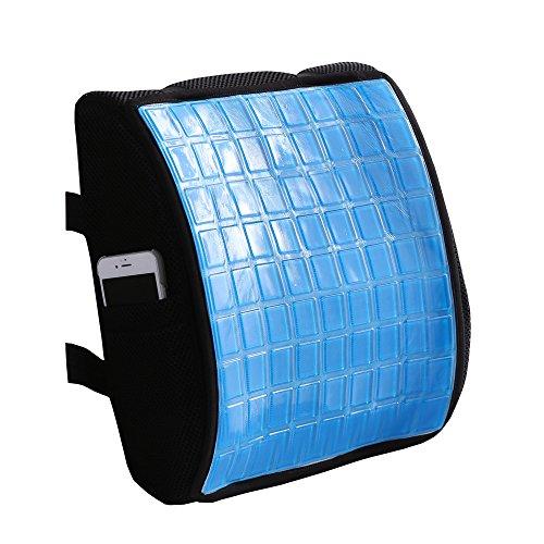 Magichome Comfort 100% Pure Memory Foam Back Cushion -New Fe