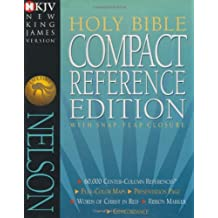 Holy Bible Compact Reference Edition: with Snap-Flap Closure