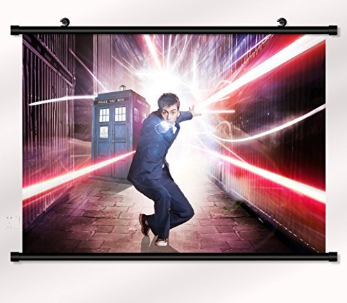 Doctor Who poster with wall scroll 22 inch x 16 inch