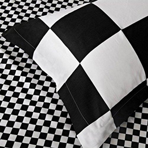 6471d19ef67 Classical black and white cotton Bedding set home textile bed linen Duvet  cover Bedclothes Queen Size