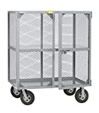Little Giant SC-2448-10SR Job Site Security Box, 24'' x 48'', Gray