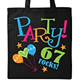 kitchen 67 birthday Inktastic 67th Birthday Party Tote Bag Black