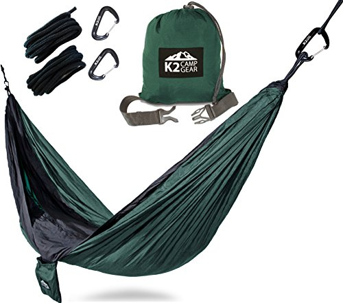 K2 Camp Gear - Double Camping Hammock