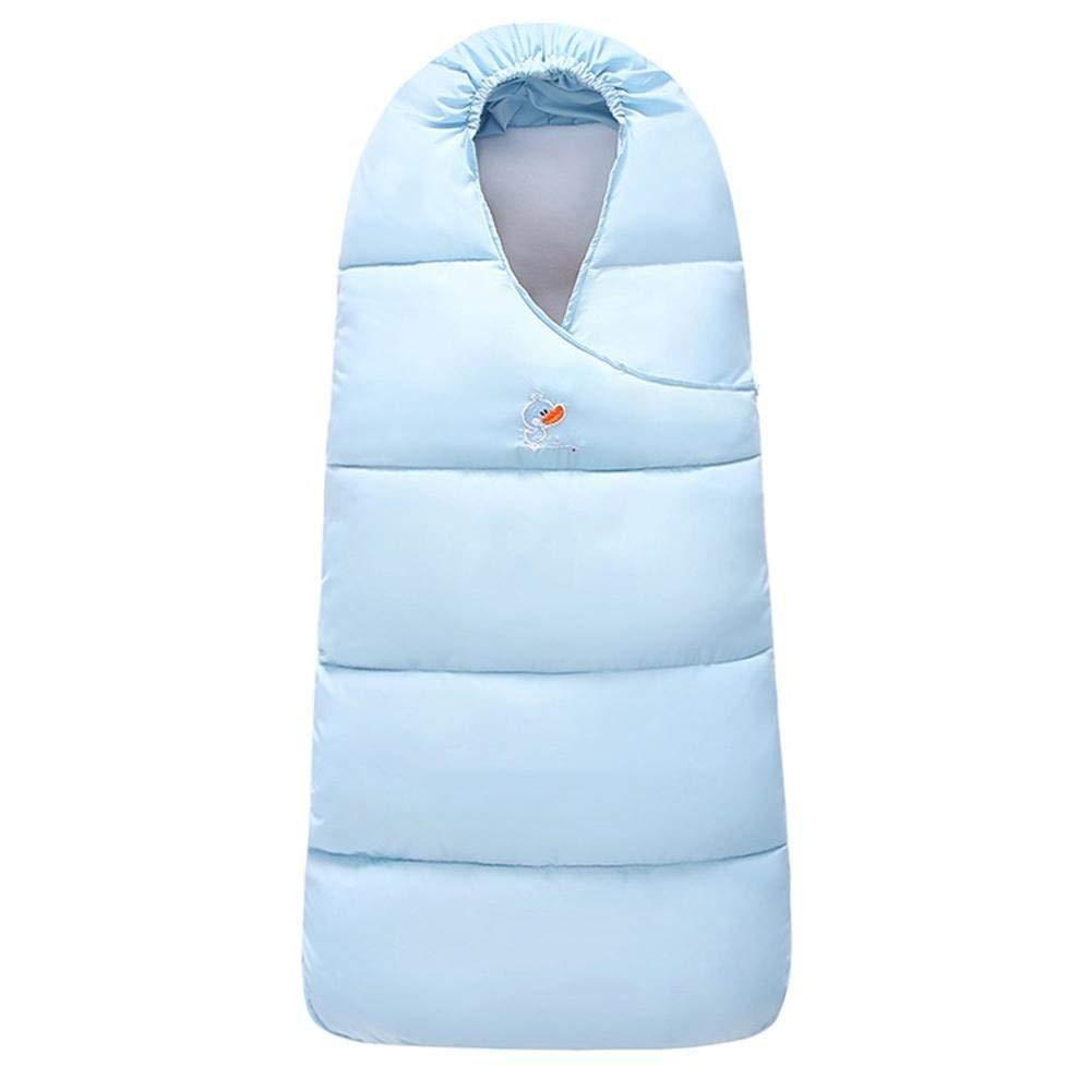 Gleecare Baby Sleeping Bag,Fall Winter Knitting Baby Anti-Kick Wool Hold by Pure Color Cotton Zipper Trolley Hug by Sleeping Bag 0-3 Years Old