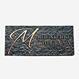 Damofy Custom home address sign villa outdoor garden hotel apartment imitation stone rectangular sign