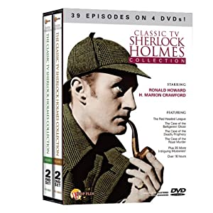 Classic TV Sherlock Holmes Collection (2pc) movie