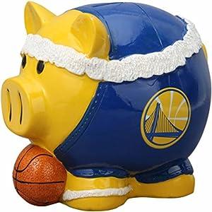 """Golden State Warriors Team Headband 7"""" Piggy Bank"""