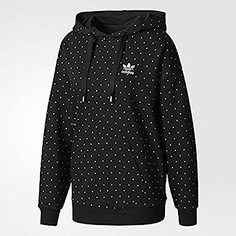 Adidas Damen Hoodie Pharrel Williams HuHiking CY7558 Schwarz